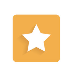 star flat icon internet and design vector image