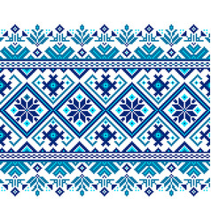 Ukrainian folk seamless vector