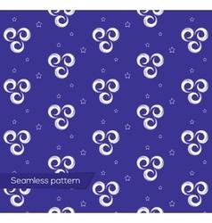 Geometric design seamless pattern in art nouveau vector image