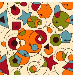 abstract seamless composition vector image