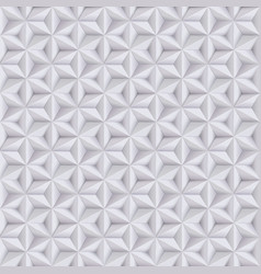 abstract white grey background 3d paper seamless vector image