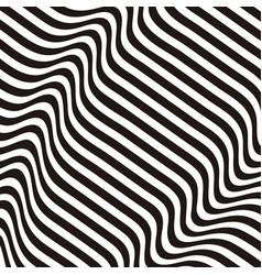 black striped backdrop zebra top wave surface vector image