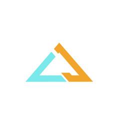cj logo vector image