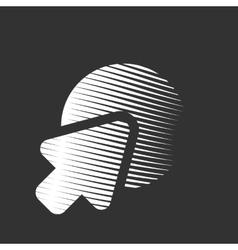 Go to web icon vector