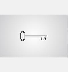 key icon sign symbol vector image
