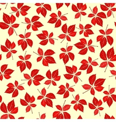 seamless creeper pattern vector image