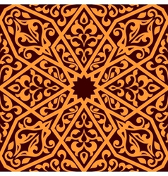 Arabian seamless tile pattern vector image vector image