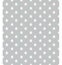 Modern pattern raindrops vector image