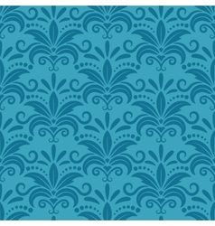 Royal wallpaper with damask seamless floral vector image vector image