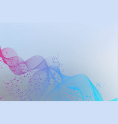 abstract wave element for designbig data vector image