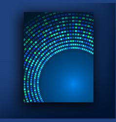 brochure business design template or banner vector image