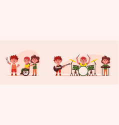character inclusive vector image