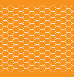 Honey combs seamless pattern vector