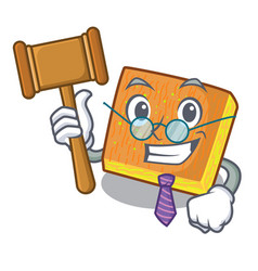 Judge kunafa was isolated from the mascot vector