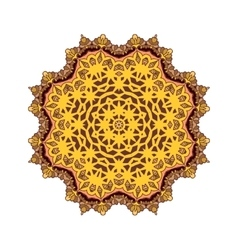 Mandala Round ornament patter vector