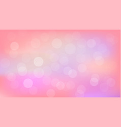 pink tone bokeh background design modern vector image