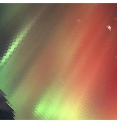 Aurora borealis background - vector image