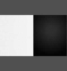 abstract black and white texture background 3d vector image