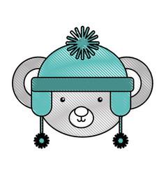 Animal koala cartoon vector