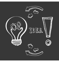 Big idea sketch design vector