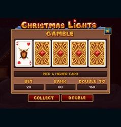 Gamble vector image