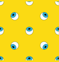 Pattern with eye vector