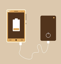 Power bank vector