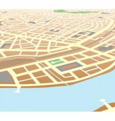 riverside city vector image vector image