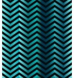 Dark turquoise gradient chevron seamless pattern vector image