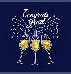 Congratulations graduates class of 2019 vector