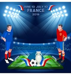 France 2016 Championship vector