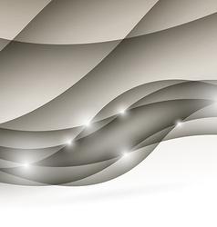 Modern wave folder light abstract design vector image
