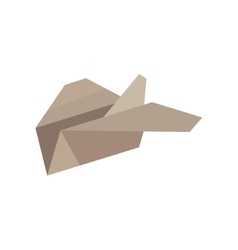 paper plane start up symbol vector image