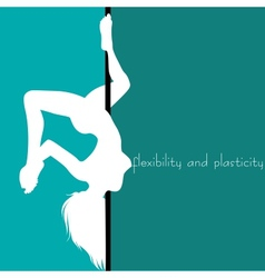 flexibility and plasticity vector image