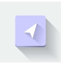GPS icon vector image