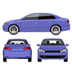 Sports Sedan vector image vector image