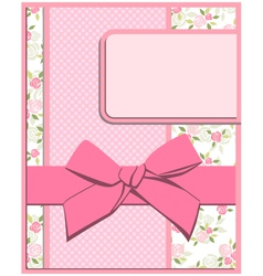 flower card set vector image