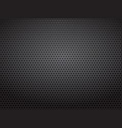 Black steel metal perforated sheets vector