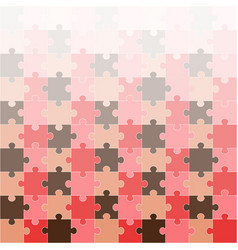 Bright puzzle background vector