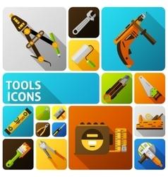 Diy tools icons vector