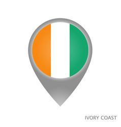 Ivory coast point vector