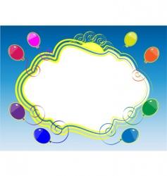 sky framework vector image