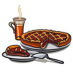 sweet pie vector image
