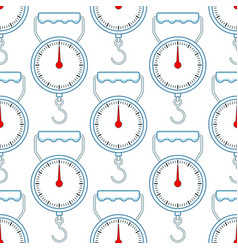 Spring scale pattern vector