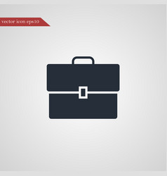 case icon simple vector image