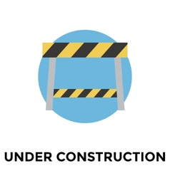 Construction barrier vector