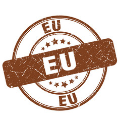 Eu stamp vector