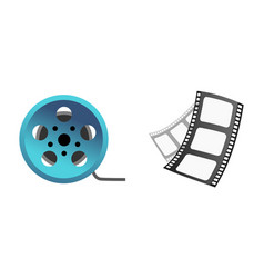 Film cinema technology vector
