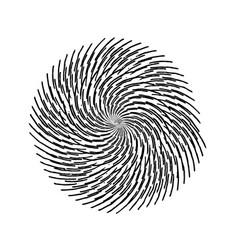 Grunge swirl stamp vector
