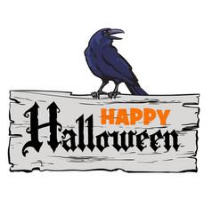 Happy halloween design elements vector